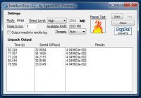 Screenshot programu IntelBurnTest 2.53