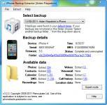 Screenshot programu iPhone Backup Extractor 6.0.7.832