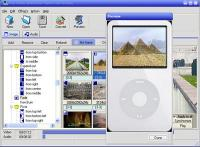 Screenshot programu iPod Photo Slideshow Maker 2.0