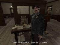 Screenshot programu Jack the Ripper