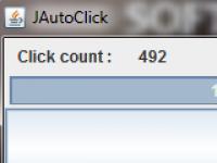 Screenshot programu JAutoclick 0.10