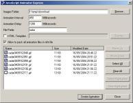Screenshot programu JavaScript Animator Express v1.10