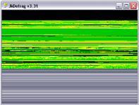 Screenshot programu JkDefrag 3.36 x64 Portable