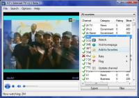 Screenshot programu JLCs Internet TV 1.1 beta 6