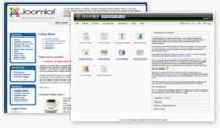 Screenshot programu Joomla! 1.5 RC 3