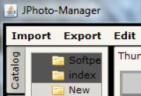 Screenshot programu JPhoto-Manager 0.2.0