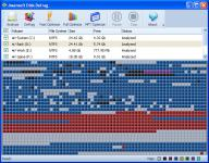 Screenshot programu Jwansoft Disk Defrag 1.0