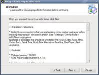Screenshot programu K-Lite Mega Codec Pack 11.8.5
