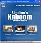 Screenshot programu Kaboom 3.0.56