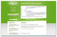 Screenshot programu Kajona 4.0