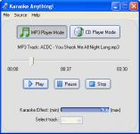 Screenshot programu Karaoke Anything! 1.0