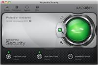 Screenshot programu Kaspersky Security for Mac 2013 13.0.2.458