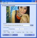 Screenshot programu Kate`s Video Convertor 1.14 beta