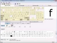 Screenshot programu KbdEdit 1.2.4