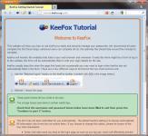 Screenshot programu KeeFox 1.4.8