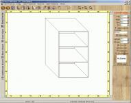 Screenshot programu Kesway CabiDesigner 3.0.2