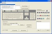 Screenshot programu Keyboard remaper 2.2.0