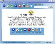 Screenshot programu Kids Playground Web Browser 10.2