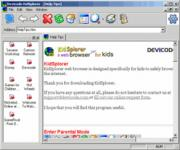 Screenshot programu KidSplorer 4.2.6.0