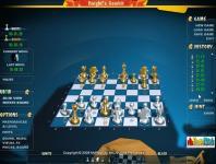 Screenshot programu Knight's Gambit