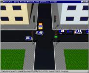 Screenshot programu Křižovatka