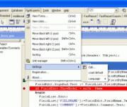Screenshot programu LCC-Win32 09012004