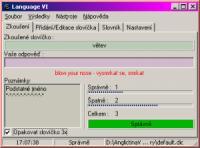 Screenshot programu Language VI