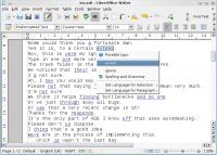 Screenshot programu LanguageTool 2.0