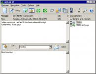 Screenshot programu LanTalk XP 2.93.7455