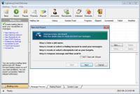 Screenshot programu Lightning Email Deliverer 2.5.9.2