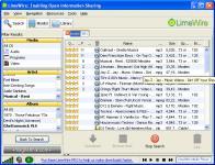 Screenshot programu LimeWire 5.4.1 beta