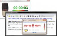 Screenshot programu Listen N Write 1.16.0.0 Portable