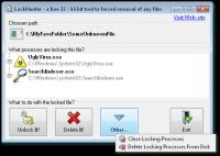 Screenshot programu LockHunter 2.0 64-bit beta 2