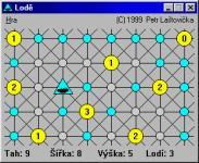 Screenshot programu Lodě