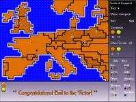 Screenshot programu Lords of Conquest