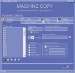 Screenshot programu Machine Copy 1.4.3.bf1