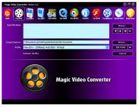 Screenshot programu Magic Video Converter 12.1.11.11