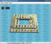 Screenshot programu MahJongg Solitaire 3D 1.01