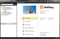 Screenshot programu MailStore 4.1.1.5187