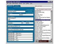 Screenshot programu Manage Your Contacts 5.3.2