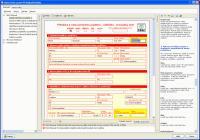 Screenshot programu Manažer elektronických podání 2017