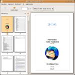 Screenshot programu Mozilla Thunderbird 2.0 Uživatelská příručka