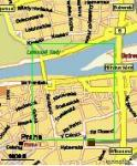 Screenshot programu Mapa Prahy