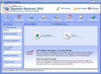 Screenshot programu Max Secure Spyware Detector 19.0.1.11