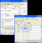 Screenshot programu McSoftware Contacts