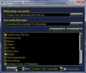 Screenshot programu Media Shuffle 1.1