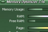 Screenshot programu Memory Optimizer 2.9.80