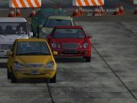 Screenshot programu Mercedes-Benz World Racing