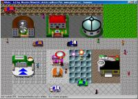 Screenshot programu Město
