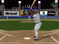 Screenshot programu Microsoft Baseball 2000